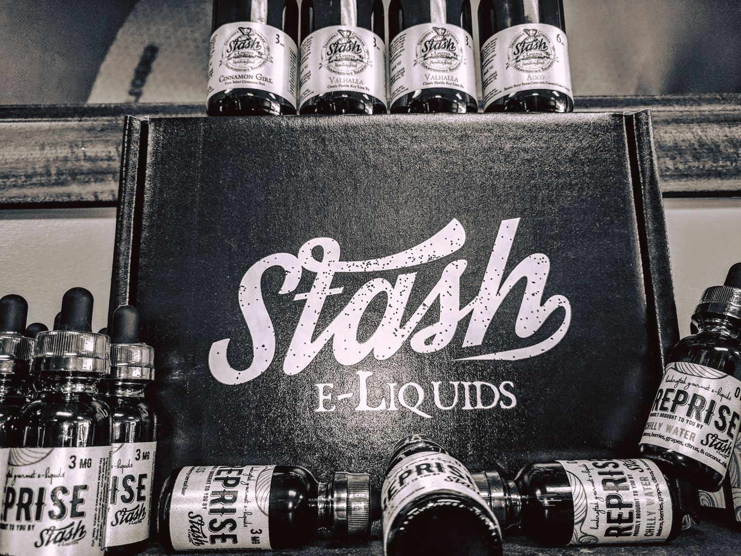 Stash, E-Liquid, vape shop, palm bay, Dripped Out Vapers, vaping, vaping equipment